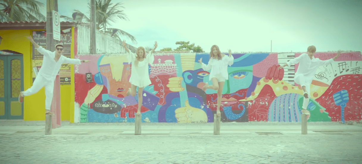 """WATCH: KARD Releases Key Point Dance & Special Teaser Video For """"Hola Hola"""""""