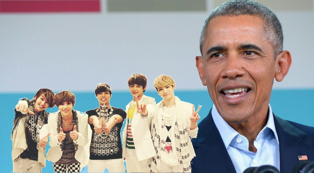 Former President Barack Obama Talks Kimchi And SHINee In New Speech