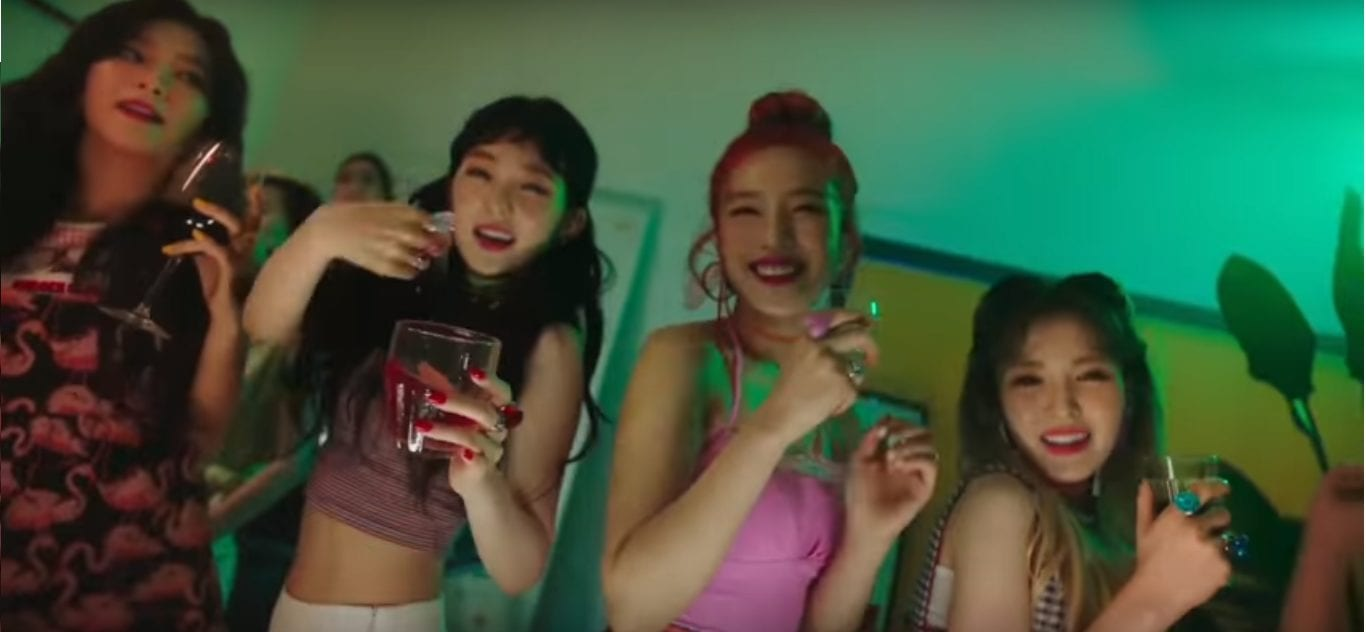 "Red Velvet Parties It Up In Teaser For ""Red Flavor"" Music Video"