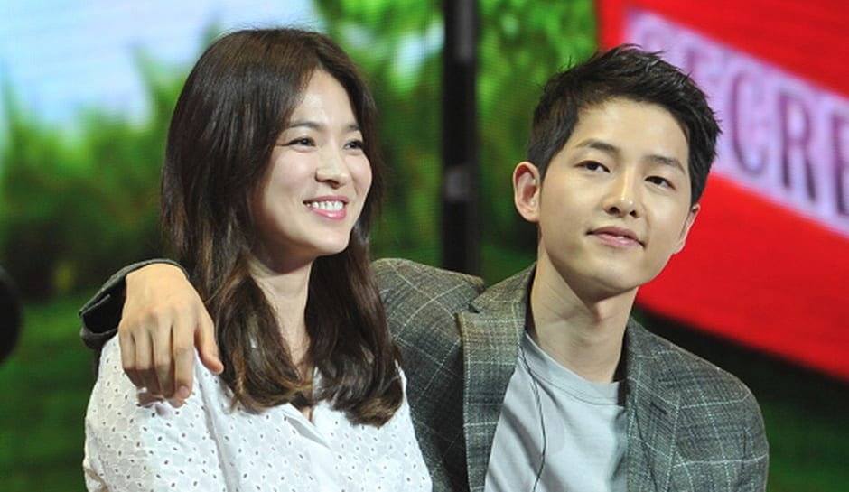 Song Joong Ki And Song Hye Kyo Confirm Their Engagement