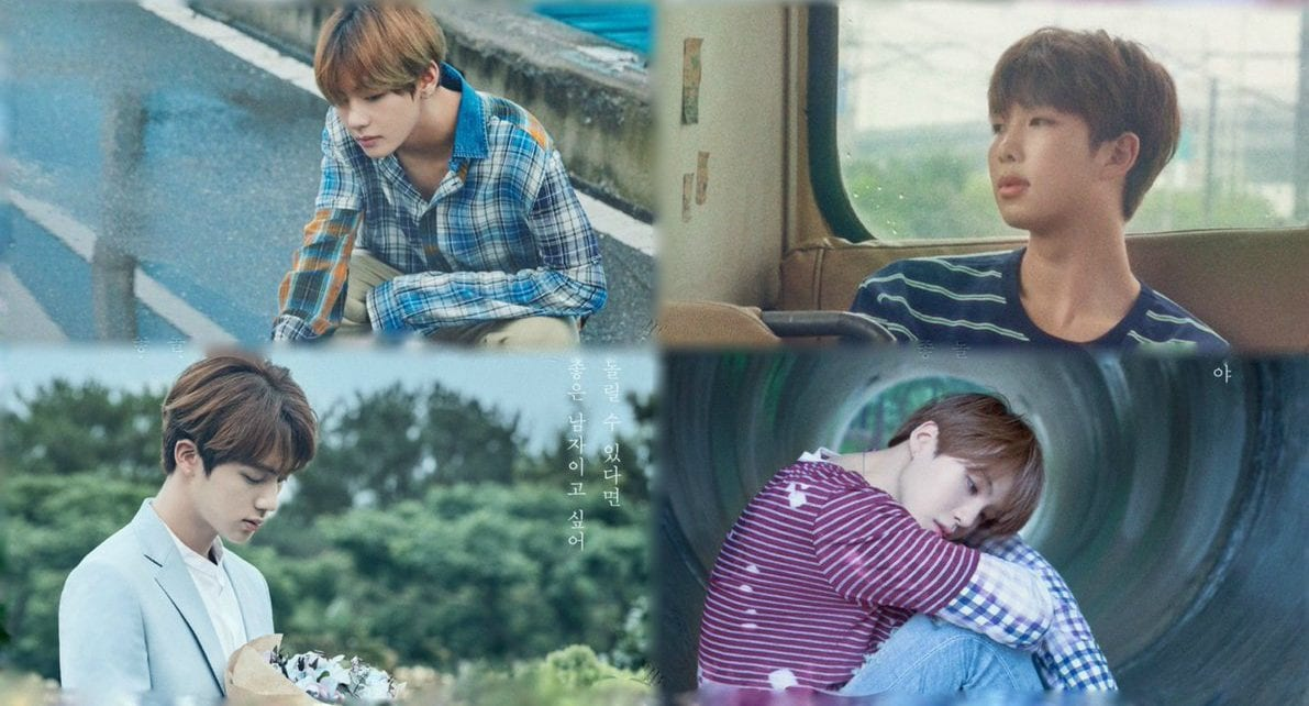 "BTS Drops Full Set Of ""Love Yourself"" Concept Posters"