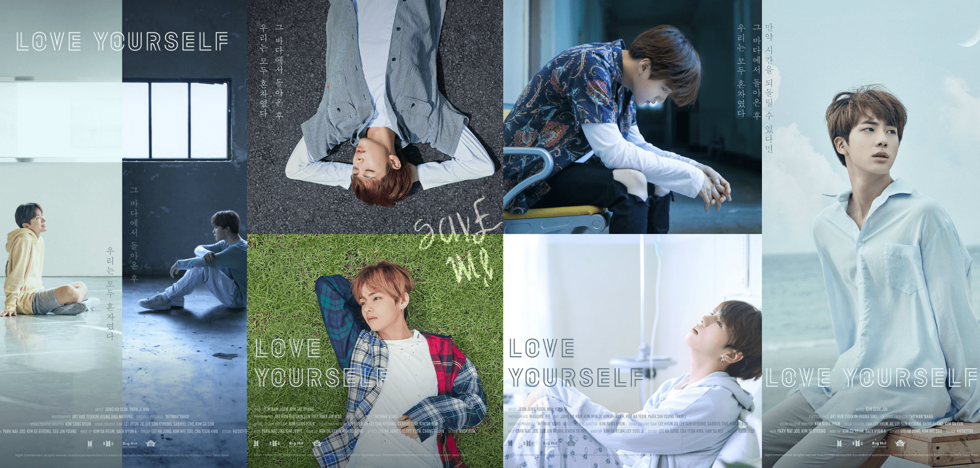 Bts Implies Tragic Sea Story In Second Set Of Love Yourself