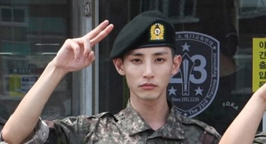 Official Military Picture Released Of Actor Lee Soo Hyuk