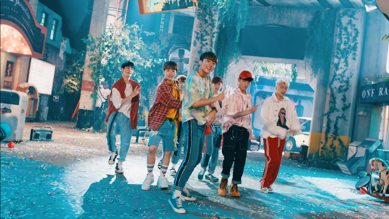 "WATCH: ONF Makes Long-Awaited Debut With ""ON/OFF"" MV"