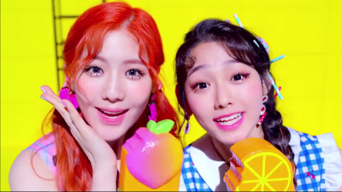 "WATCH: gugudan5959 Releases Catchy MV Teaser For ""ICE CHU"""