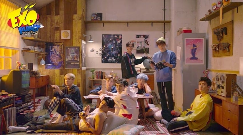 "WATCH: EXO Drops ""Parallel Universe"" Teaser Video"