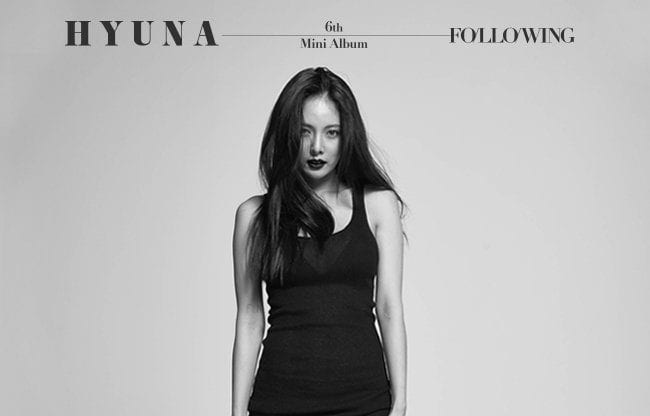 """HyunA Is Flawless In New Set Of Teasers For """"Following"""" Comeback"""
