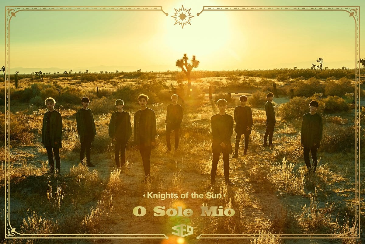 """SF9 Drops Stunning Teaser Images For """"Knights Of The Sun"""""""
