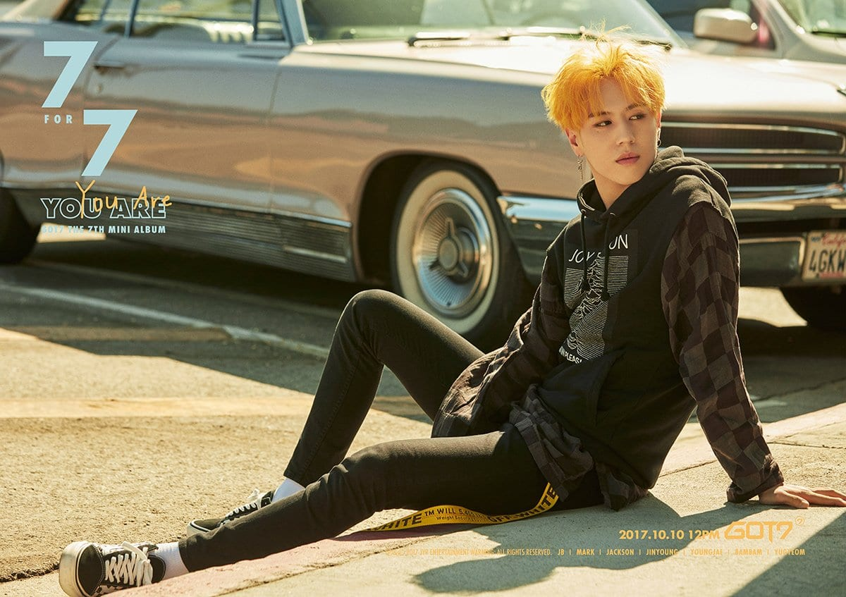 """GOT7's Yugyeom Shines In New Teasers For """"7 For 7"""""""
