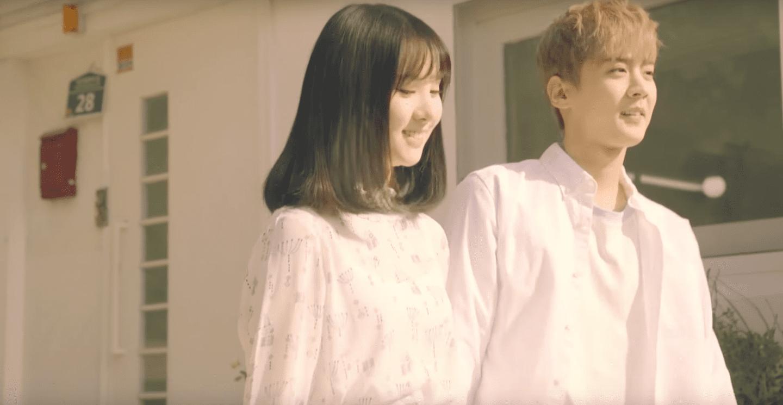 "GFRIEND's Eunha And Teen Top's Chunji ""Hold Your Hand"" In Charming New MV"
