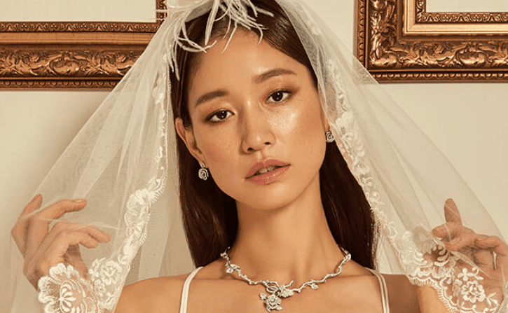 Sera Park Shows Off Luxury Wedding Jewelry In New ELLE Photoshoot