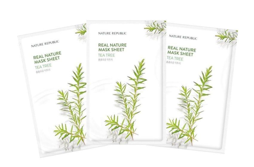 WTK Review: Nature Republic Real Nature Tea Tree Mask Sheet