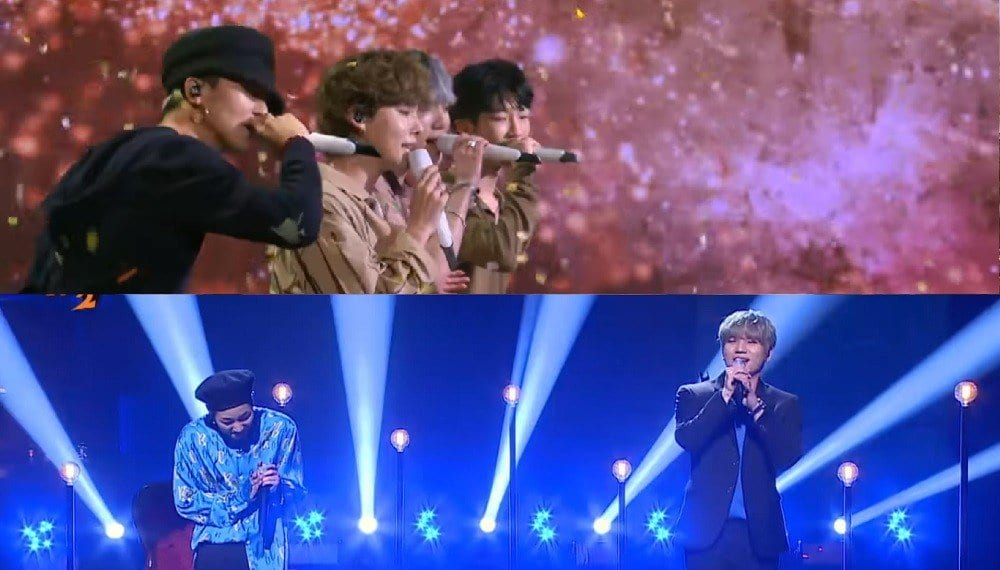 WINNER, K.Will And DinDin Impress Viewers With Their Own Renditions Of Classic Hits