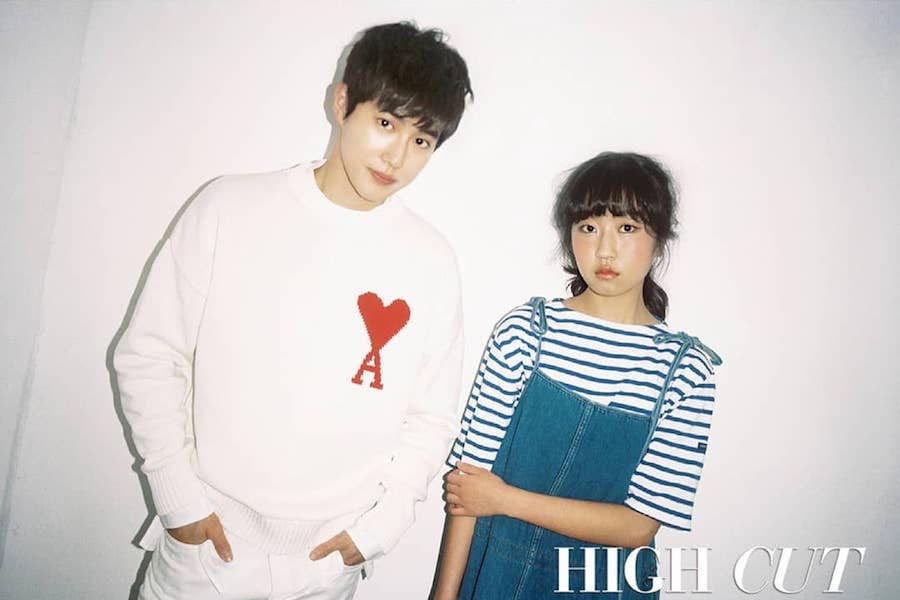 EXO's Suho And Actress Kim Hwan Hee Show Off Summer Fashion In High Cut Magazine
