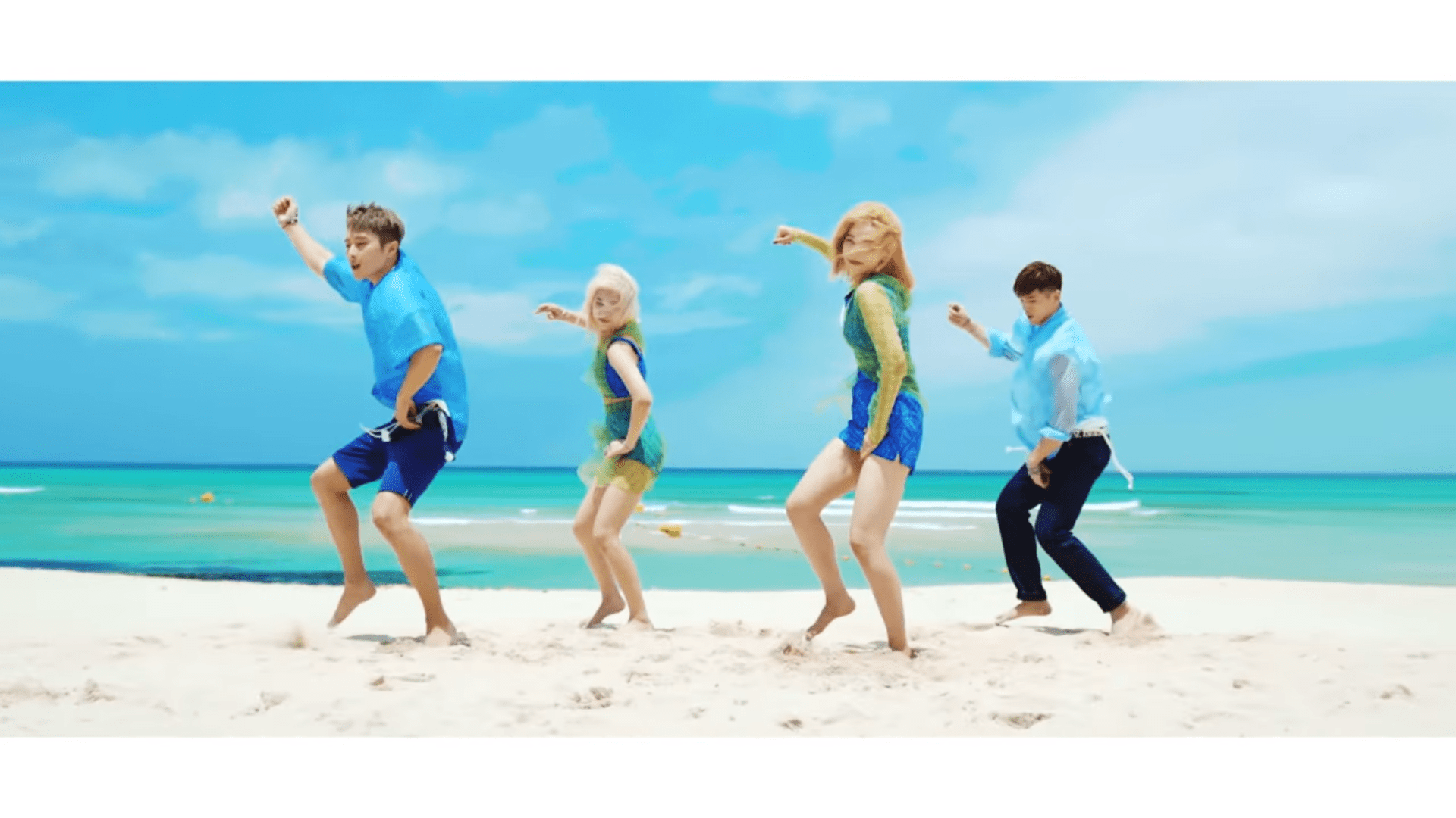 """WATCH: KARD Enjoys Their Summer In Colorful MV For """"Ride On The Wind"""""""