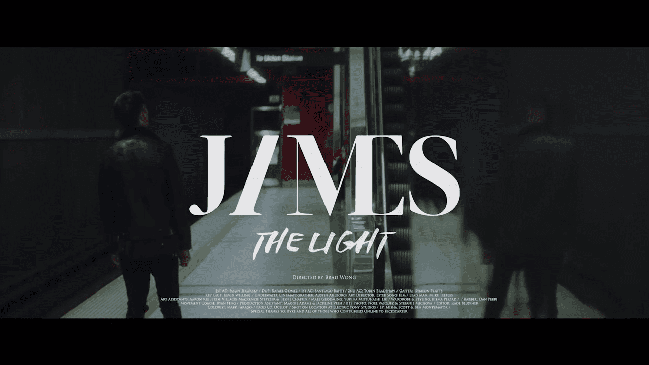 """WATCH: James Lee Sings About """"The Light"""" In The Darkness In New Solo MV"""