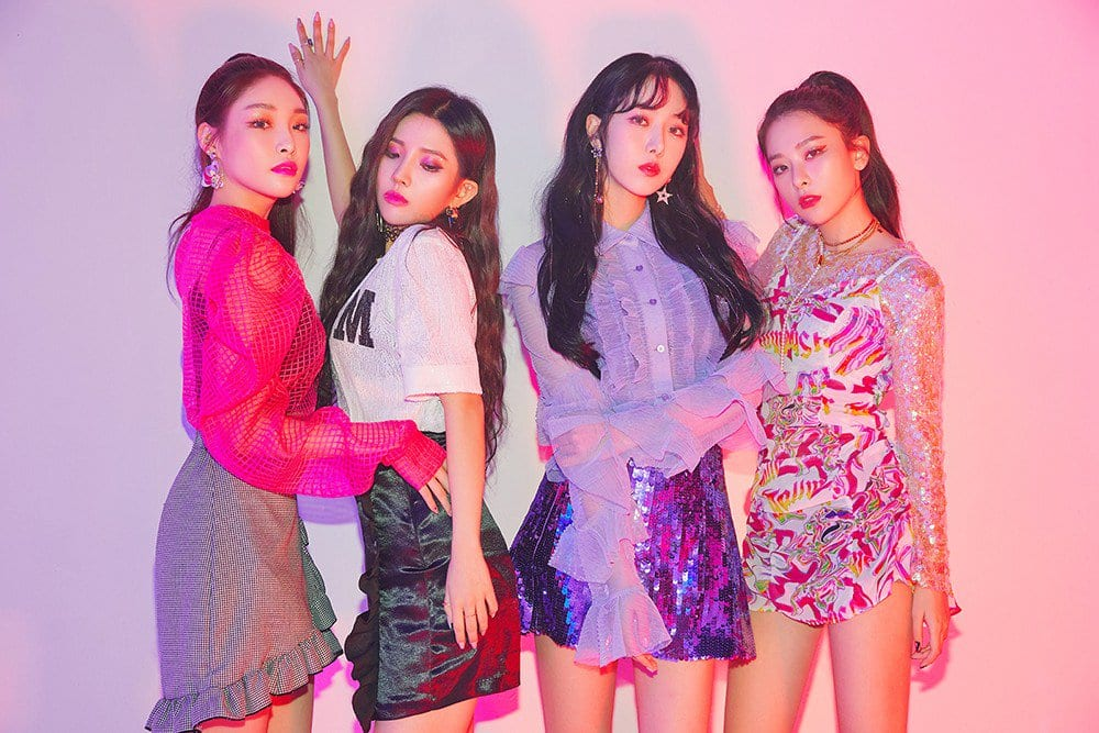 "WATCH: Seulgi, SinB, Chungha, And Soyeon Team Up For Powerful Collaboration With ""Wow Thing"""