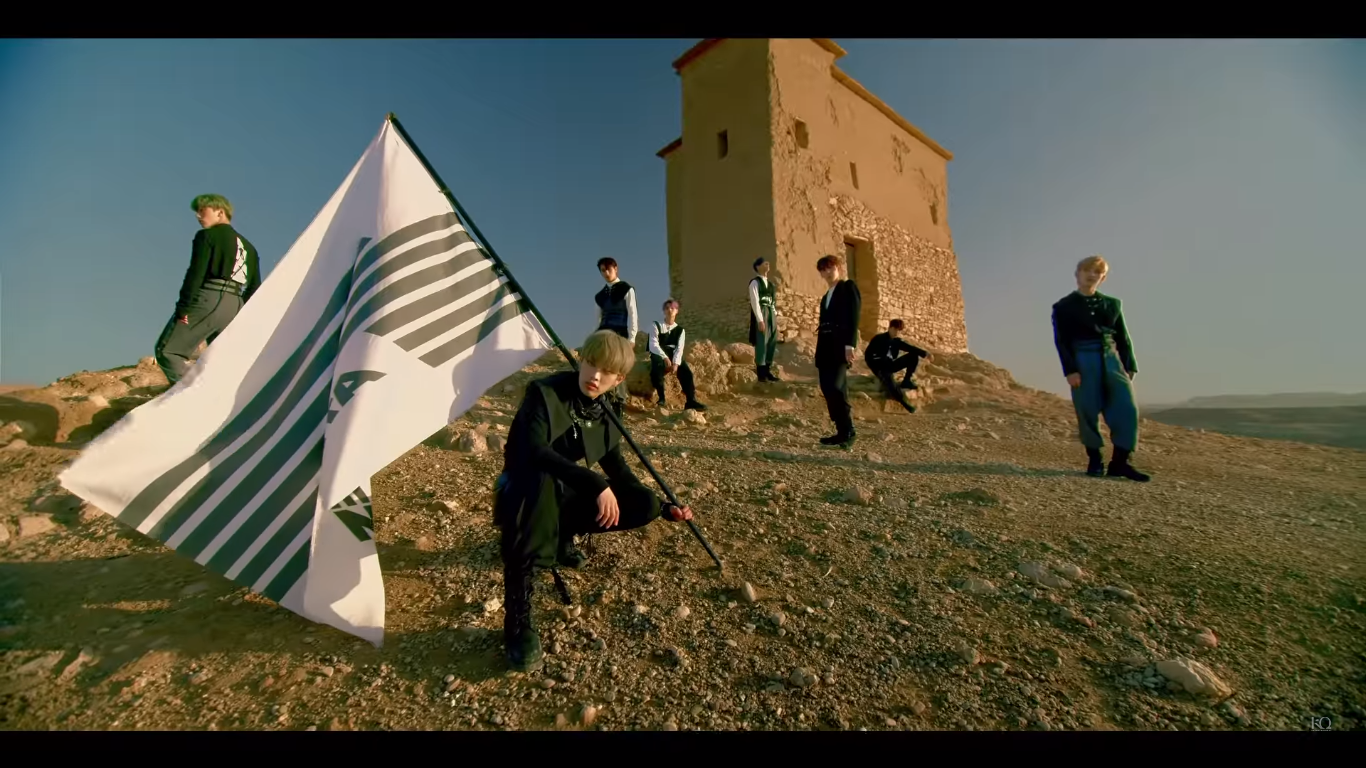 """WATCH: ATEEZ Wants To Share Their """"Treasure"""" In Epic Debut Music Video"""