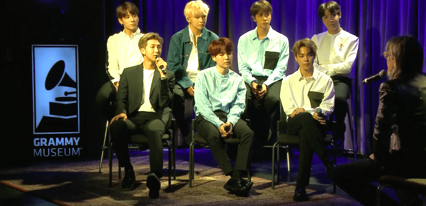 Grammy Museum Releases Historic Talk With BTS