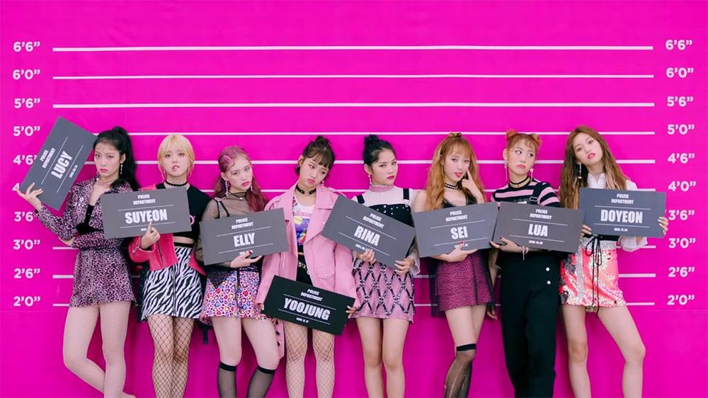 "WATCH: Weki Meki Hit Hard With Fierce 'Girl Crush' Concept In New ""Crush"" MV"