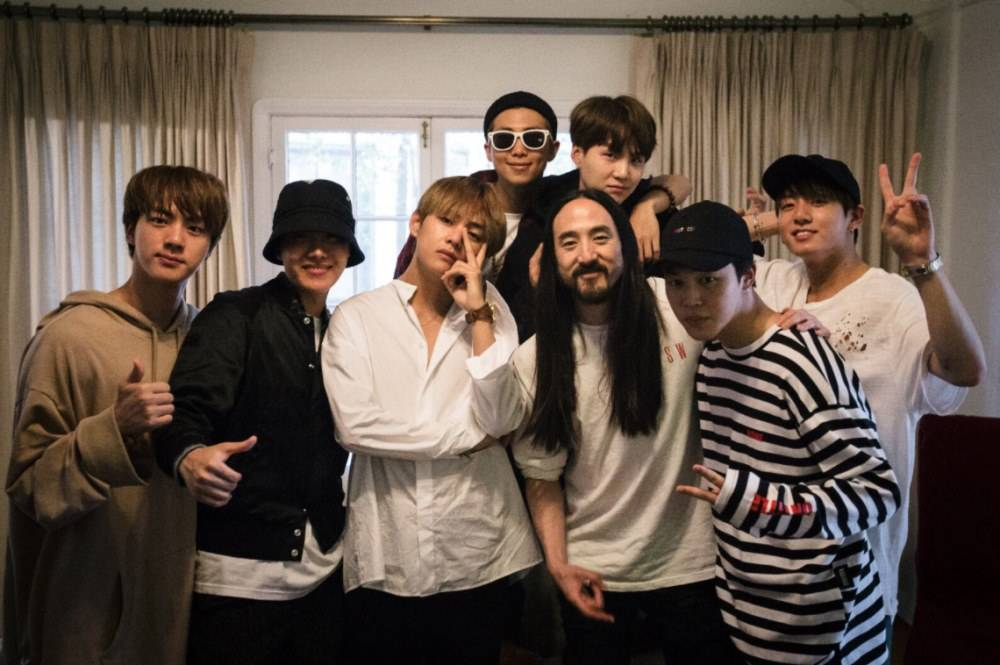 """WATCH: Steve Aoki Releases MV For BTS Collaboration Single """"Waste It On Me"""""""