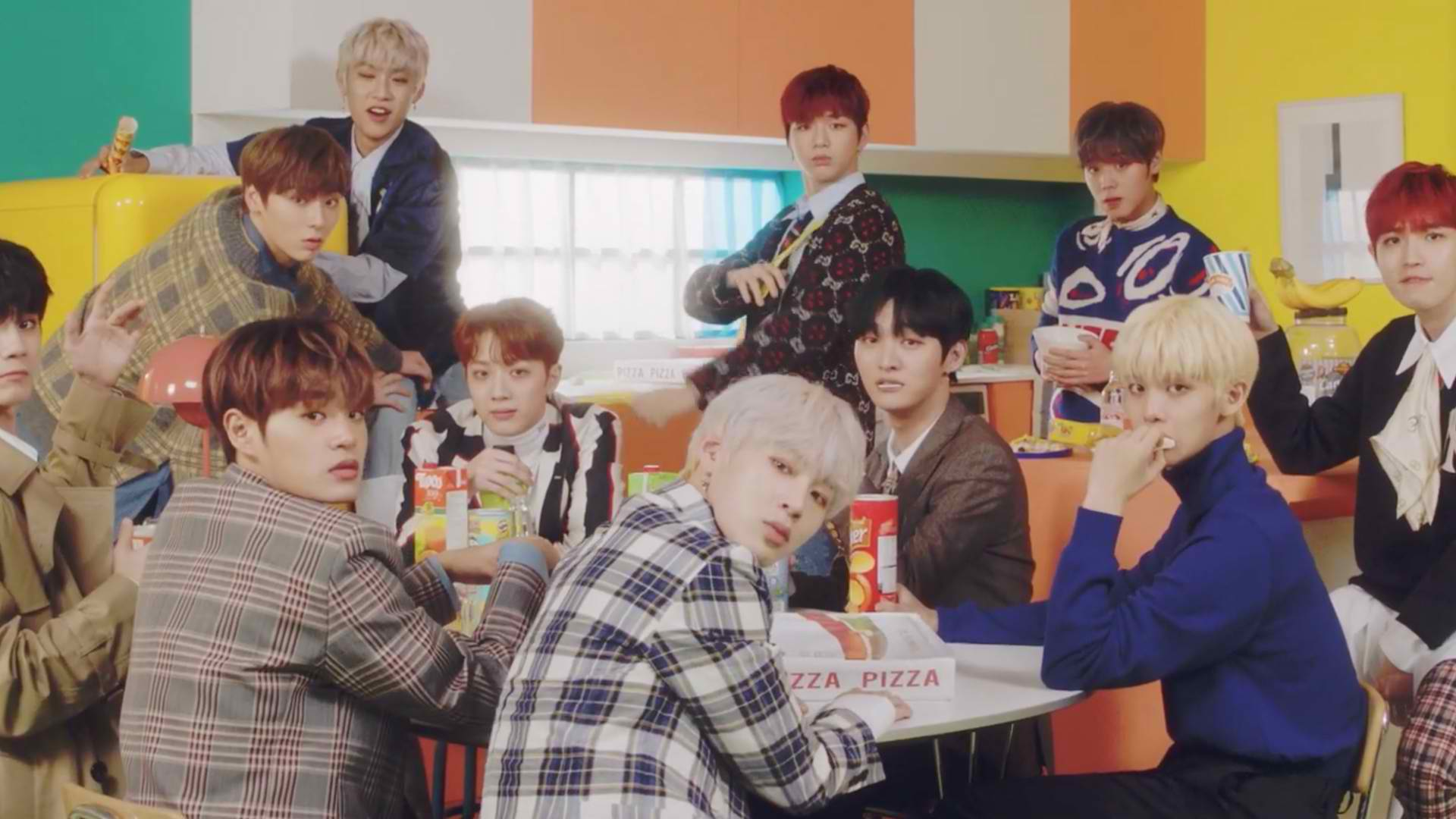 "WATCH: Wanna One Drops Music Video For New Single ""Spring Breeze"""