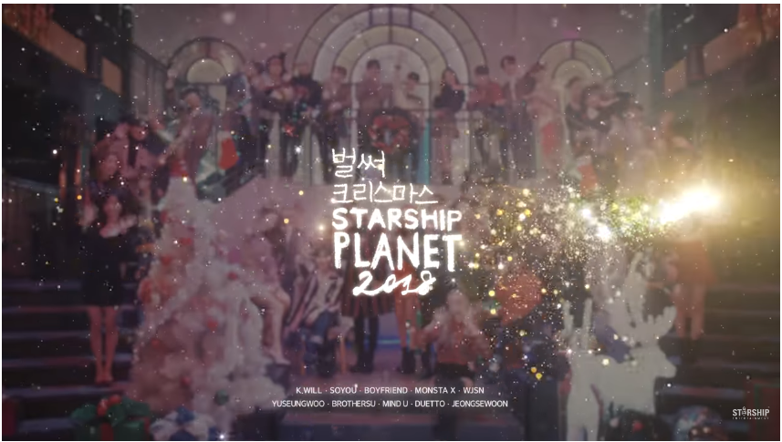 """WATCH: Starship Artists Welcome The Holidays With """"Christmas Time"""" MV"""