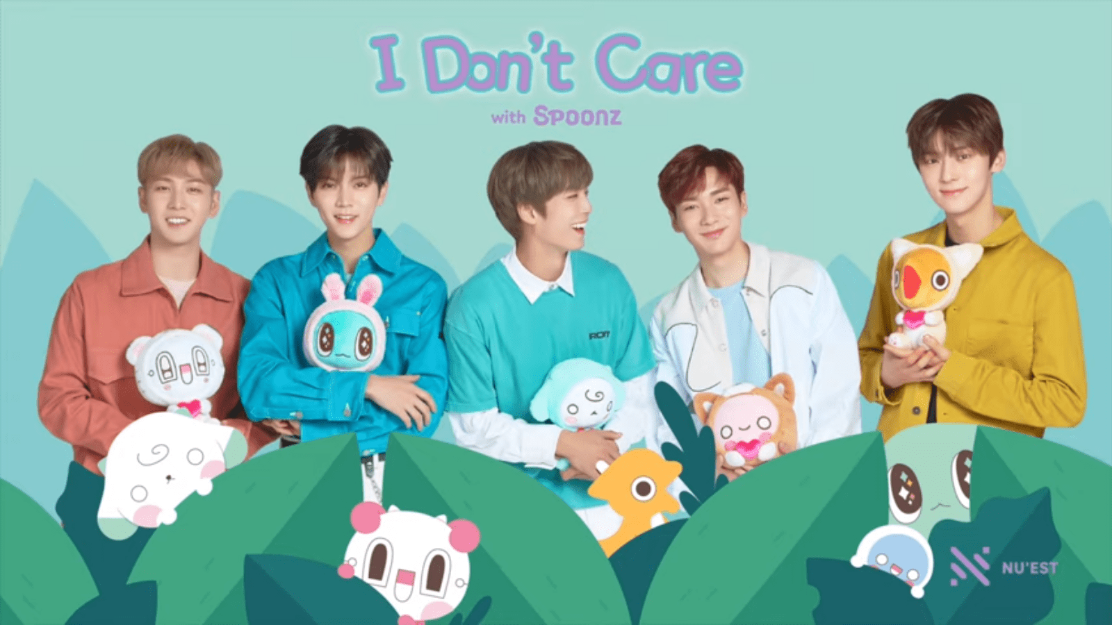 "WATCH: NU'EST Drops Five-Member Version Of ""I Don't Care"" Track"