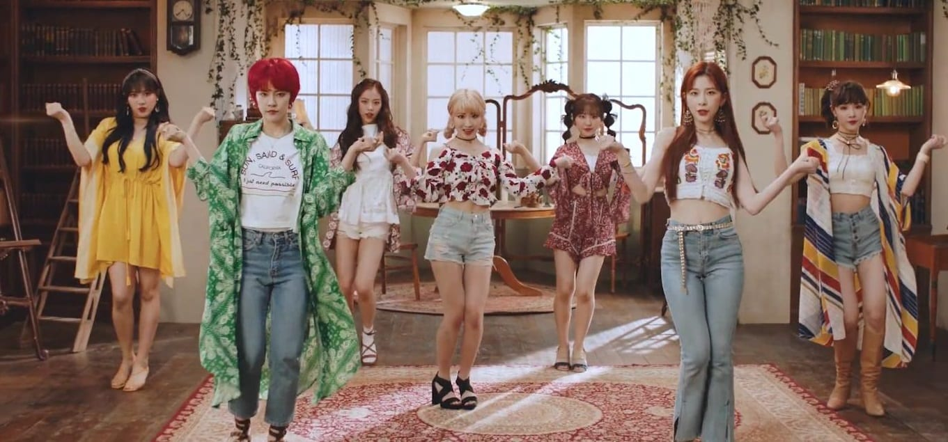 "WATCH: GWSN Invites You On A Whimsical Dream Adventure In ""RED-SUN(021)"" MV"