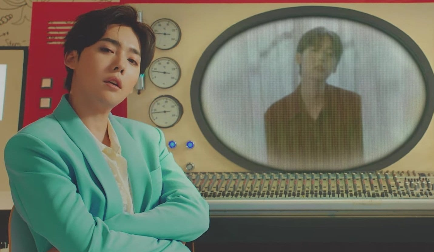 "WATCH: WINNER's Jinu Makes Solo Debut With ""Call Anytime"" MV Featuring Song Mino"