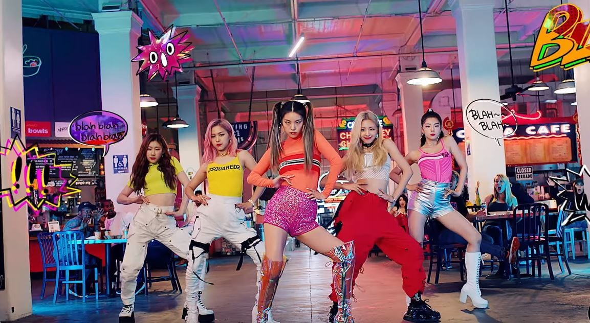 """WATCH: ITZY Drops Fierce Performance Video For """"ICY"""""""