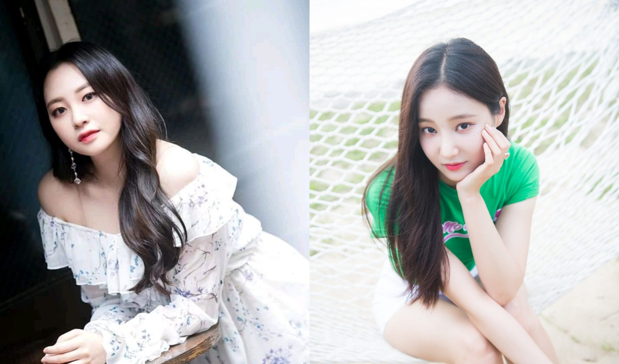 Taeha And Yeonwoo Leave MOMOLAND