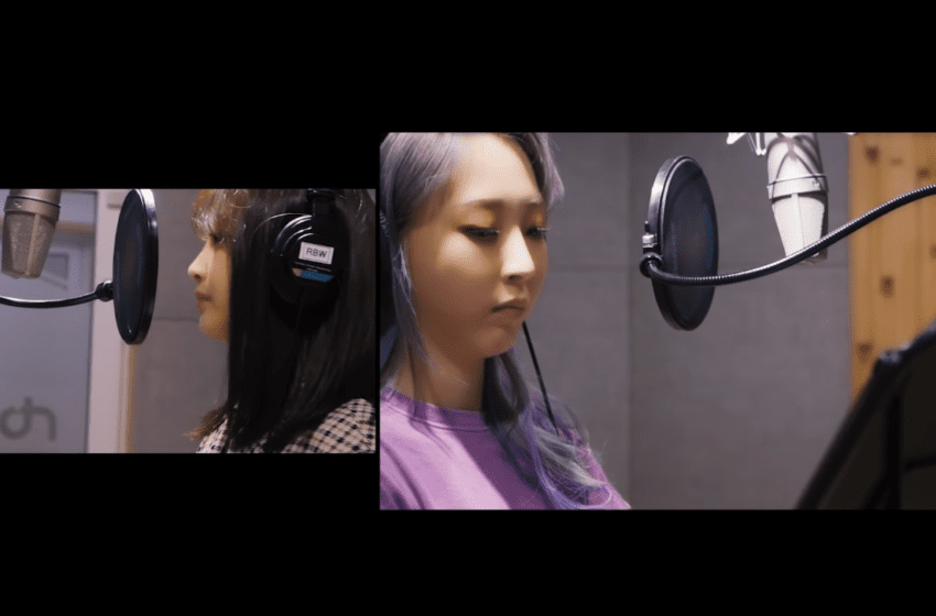"WATCH: MAMAMOO's Moonbyul and Punch Sing Together In Pre-Released Film For ""Weird Day"""