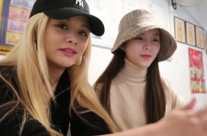 WATCH: CLC's Sorn And Elkie, BLACKPINK's Lisa, And (G)I-DLE's Minnie Have Thai Food Mukbang In New Video