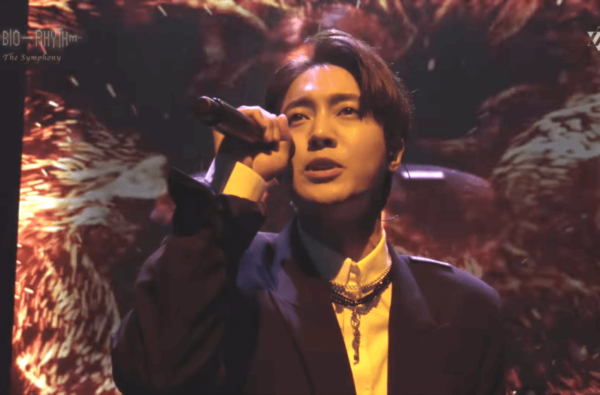 WATCH: SS501's Kim Hyun Joong Mixes Orchestra With Rock For Special Live Performance