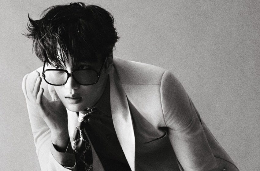 EXO's Kai Shows Off Perfect Gucci Style On Special Covers Of ELLE Magazine