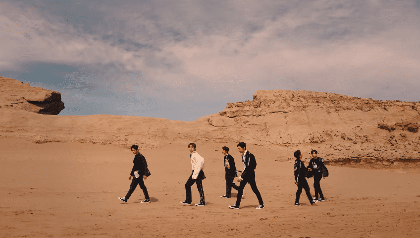 "WATCH: ONEUS Is Gripped With Emotion In Striking Music Video For ""A Song Written Easily"""