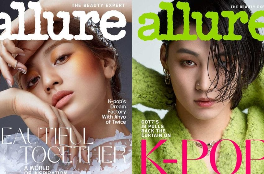 TWICE's Jihyo And GOT7's JB Become First K-pop Models For U.S. Magazine Allure