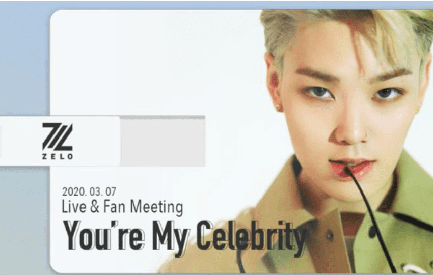 """WTK REVIEW: Generous Zelo Holds """"You're My Celebrity"""" Fan Meeting For Charitable Cause"""