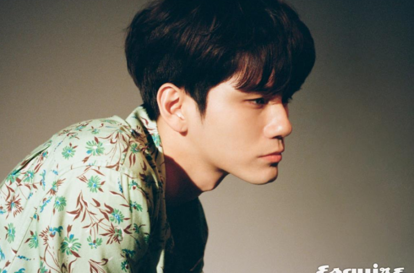 Ong Seong Wu Is Retro Chic In New Photoshoot For Esquire Magazine