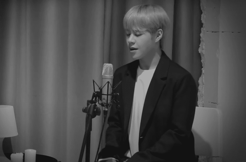"""WATCH: IMFACT's Taeho Pays Tribute To SHINee's Jonghyun With Heartfelt """"End Of A Day"""" Cover"""