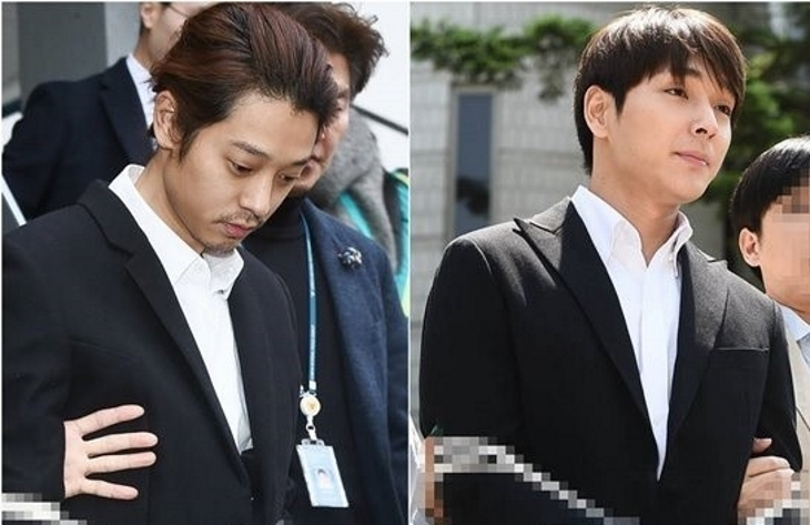Jung Joon Young And Choi Jong Hoon's Appeals Hearings Come To An End With Reduced Sentences