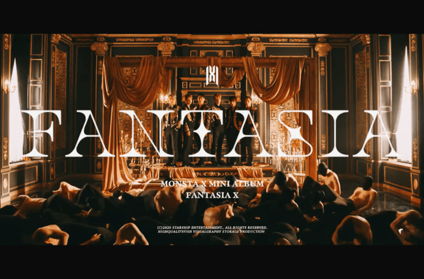 "WATCH: MONSTA X Makes Comeback With Powerful ""FANTASIA"" MV"
