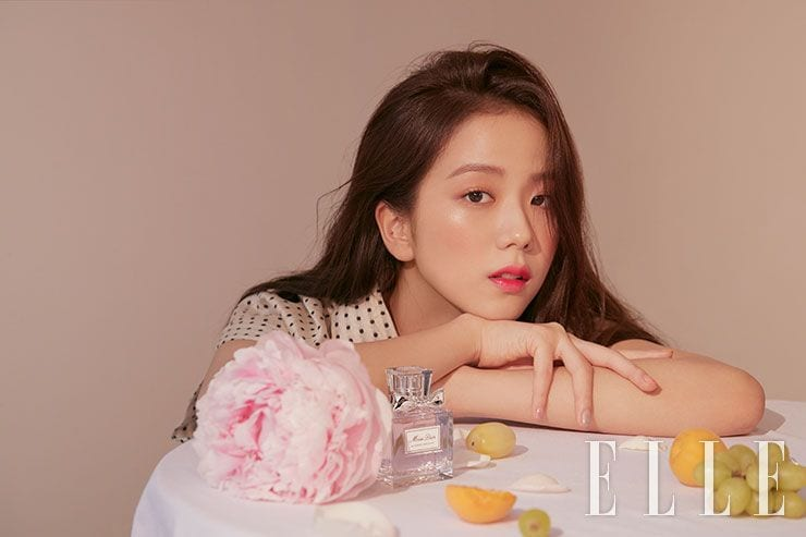 BLACKPINK's Jisoo Shines In New Photoshoot For ELLE Korea