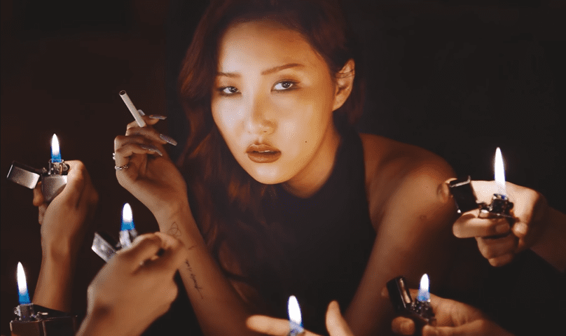 "WATCH: MAMAMOO's Hwasa Stands Strong In ""Maria"" Music Video"