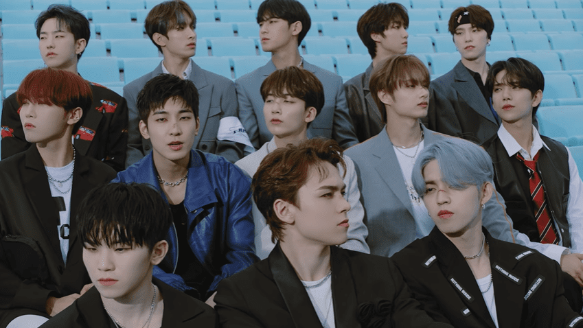 """WATCH: SEVENTEEN Is Rugged But Fun In """"Left & Right"""" MV"""