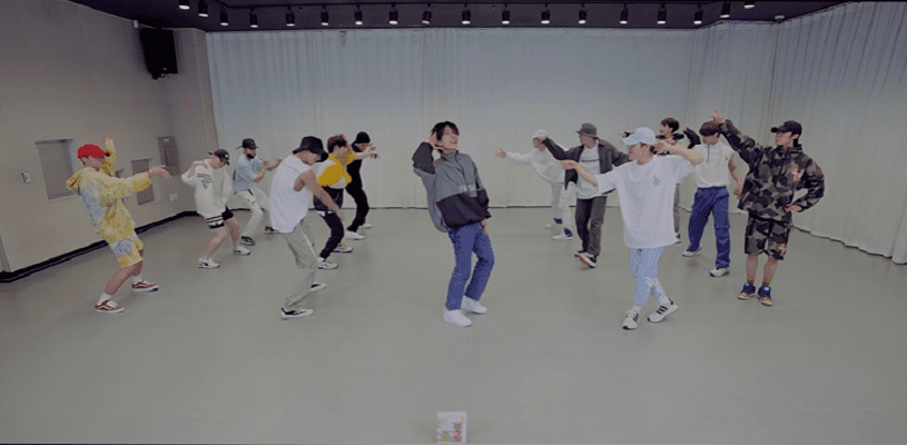 "WATCH: SEVENTEEN Drops Choreography Video For ""Left & Right"""
