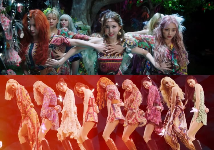"""WATCH: TWICE Returns In An Explosion Of Color In Magical """"More & More"""" MV"""