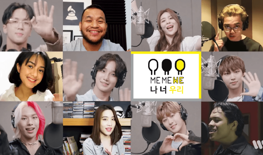 "WATCH:Ailee, Ravi, and NewKidd Join Other Asian Artists To Bring Hope Amidst The COVID-19 Pandemic In ""ME ME WE"" MV"