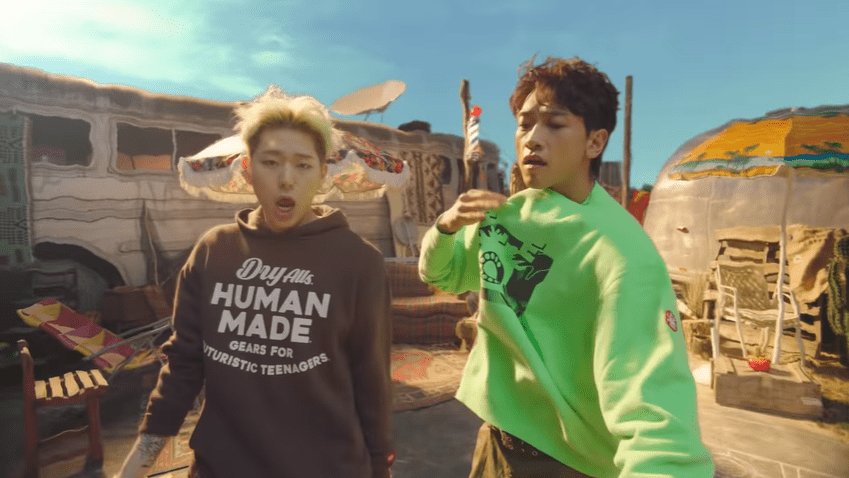"WATCH: Block B's Zico And Rain Struggle With The Heat In ""Summer Hate"" MV"